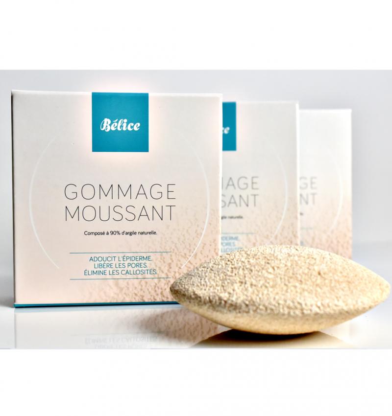 gommage moussant bio