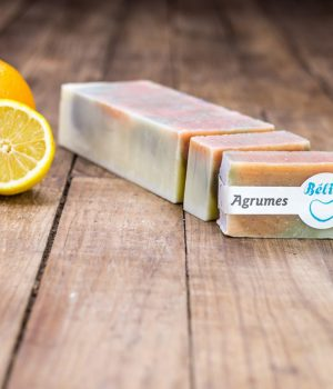 savon agrumes orange citron
