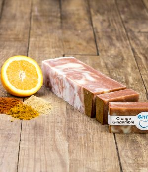 savon orange-gingembre
