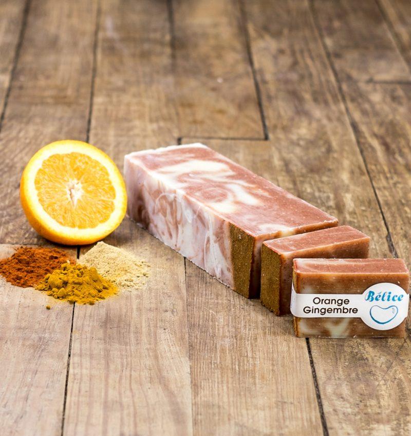 savon orange-gingembre