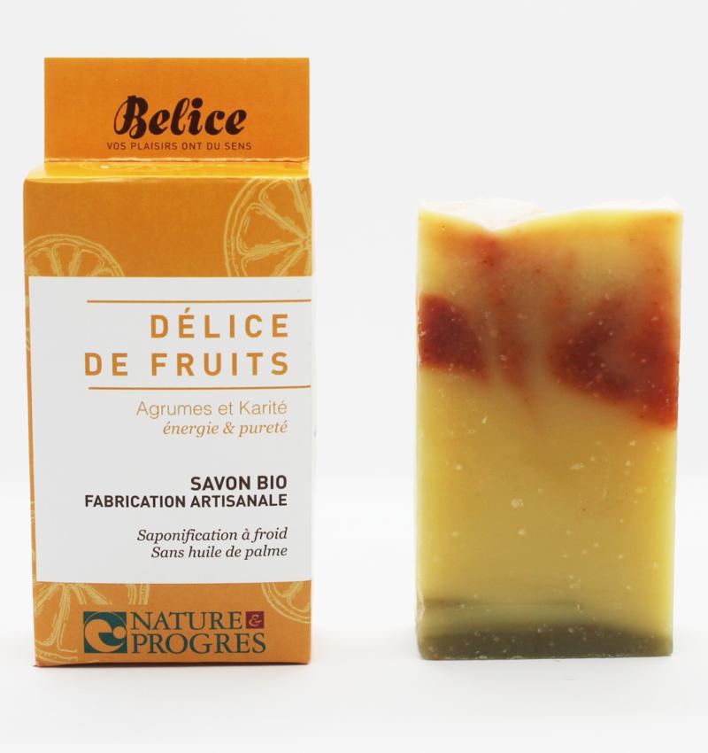savon bio délice de fruits