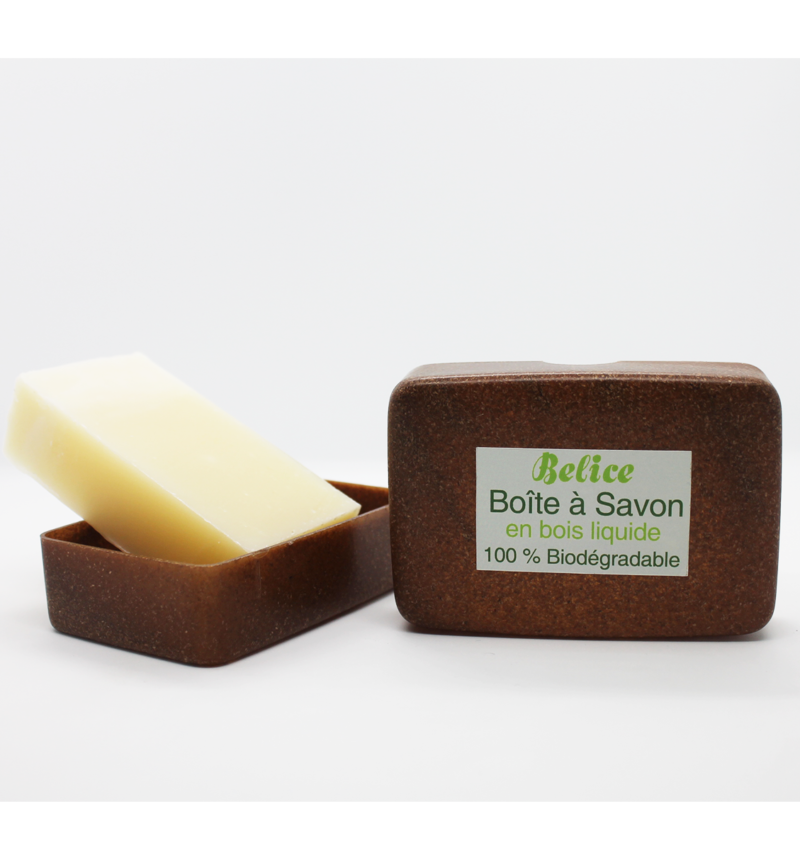boite à savon biodégradable