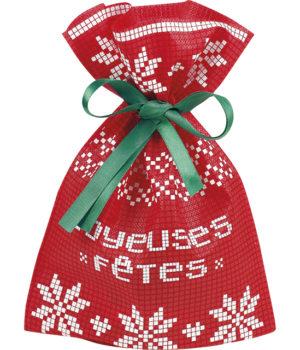 """Pochette cadeau """"Joyeuses fêtes"""""""