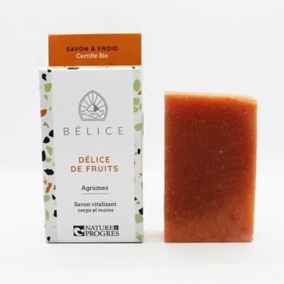 Savon à froid certifié bio Délice de fruits