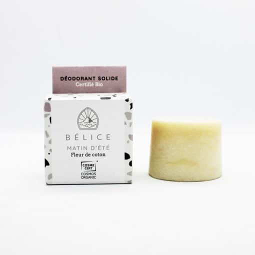 déodorant solide certifié bio matin d'été