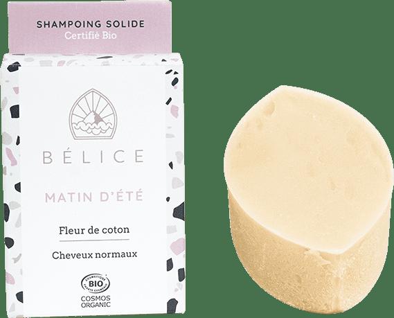 Bélice - shampoing solide certifié BIO Matin d'été