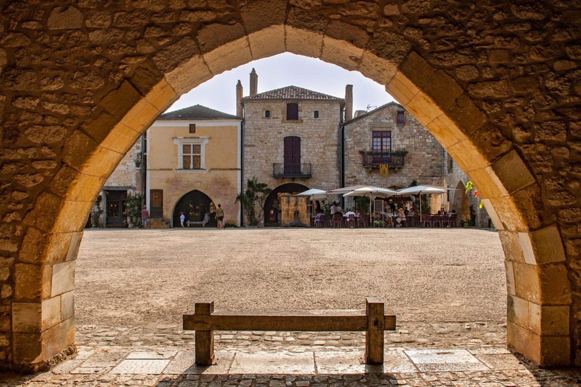 arcades de Monpazier